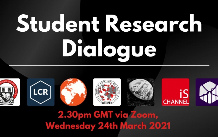 Student Research Dialogue 2021