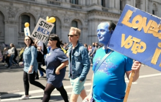 anti-brexit marchers