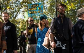anti-brexit marchers