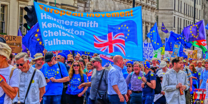 anti-Brexit march
