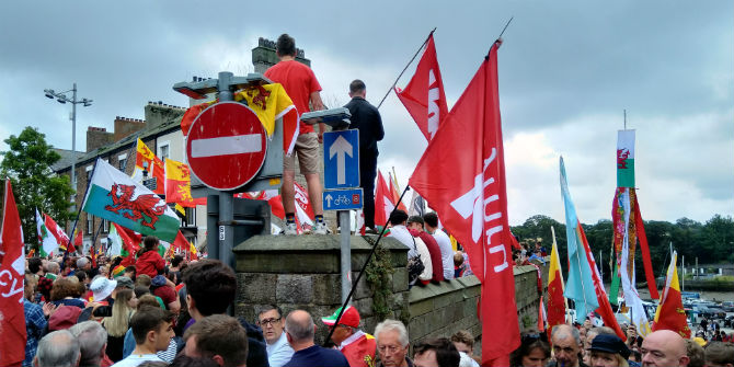 welsh independence march