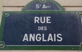 Rue des Anglais