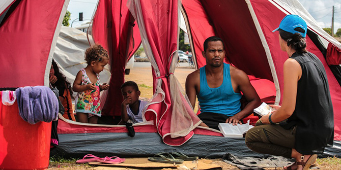 The Venezuelan exodus: placing Latin America in the global conversation on migration management