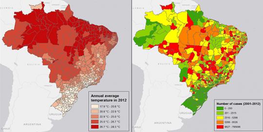 As mudanças climáticas vão intensificar a disseminação da dengue no Brasil e ao redor do mundo, e os pobres serão os mais atingidos