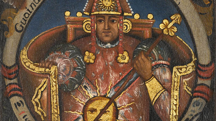 Portrait of Huayna Capac, Twelfth Inca