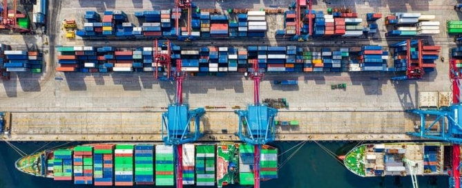 Global Value Chains Port Image