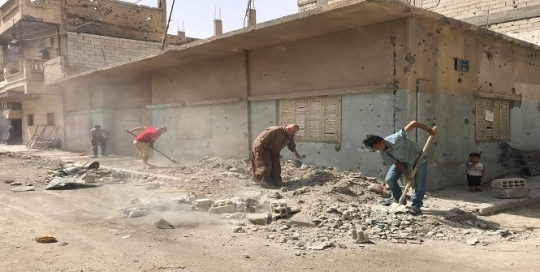 A peacebuilding perspective on post-conflict reconstruction in Syria