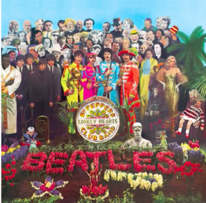 Cover of Sgt Pepper's Lonely Hearts Club Band