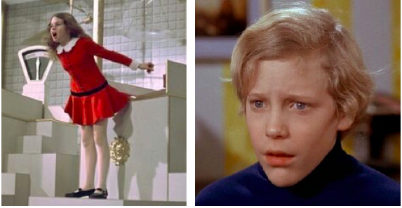 Pictures of Veruca Salt and Charlie Bucket