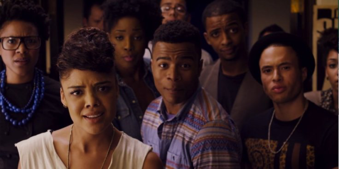 freeze frame from Dear White People