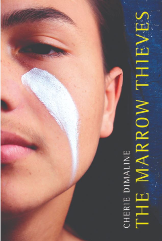 Cover of Cherie Dimaline's book, The Marrow Thieves