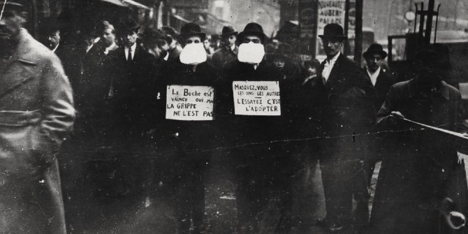 Fatalism and an absence of public grief: the 1918-19 flu pandemic