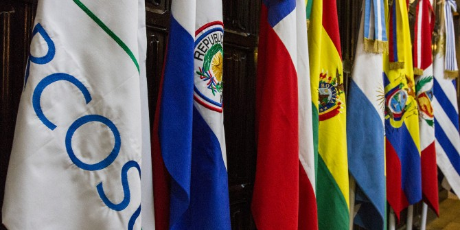 mercosur flags