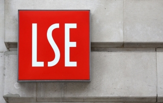 LSE sign on wall