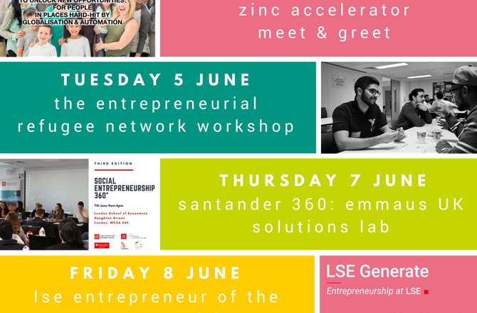 Generate Presents: Summer Social Innovation Week!