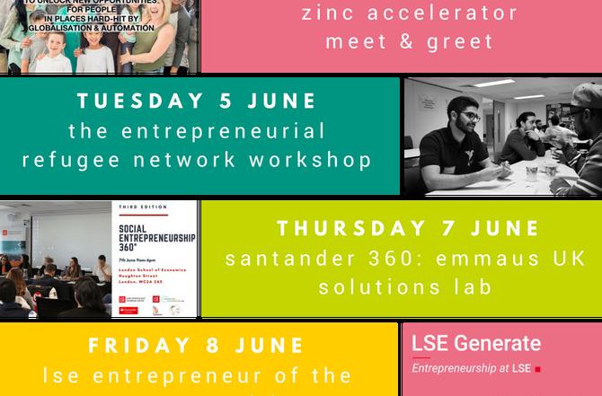Generate Presents: Summer Social Innovation Week!