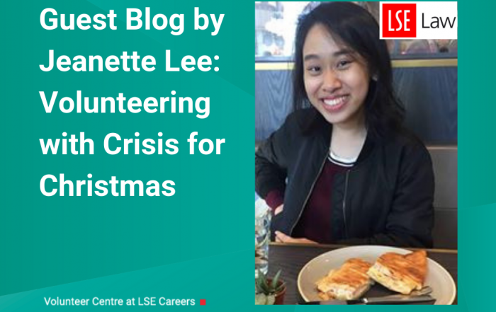 Guest Blog by Jeanette Lee: Crisis at Christmas