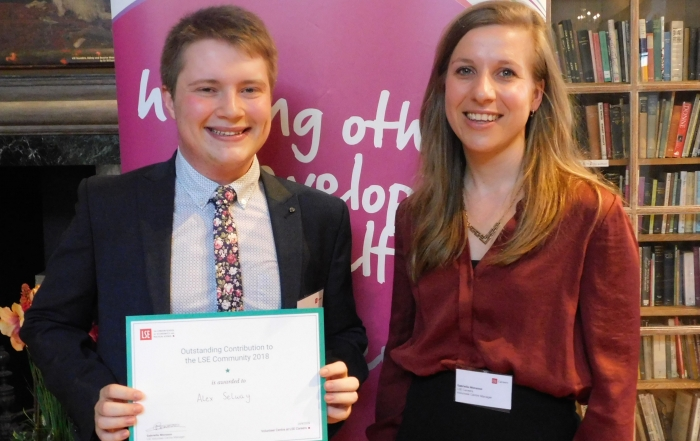 LSE Volunteering Awards 2019