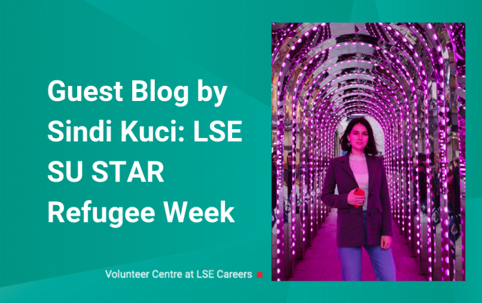 Guest Blog by Sindi Kuci: LSESU STAR Refugee Week