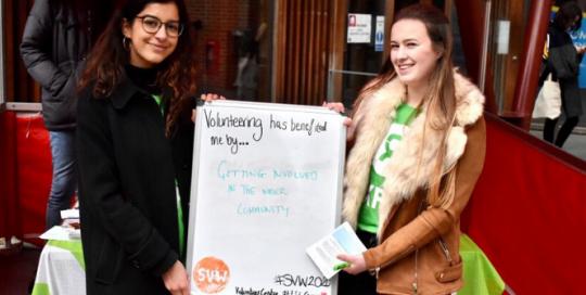 Student Volunteering Week Wrapped Up!