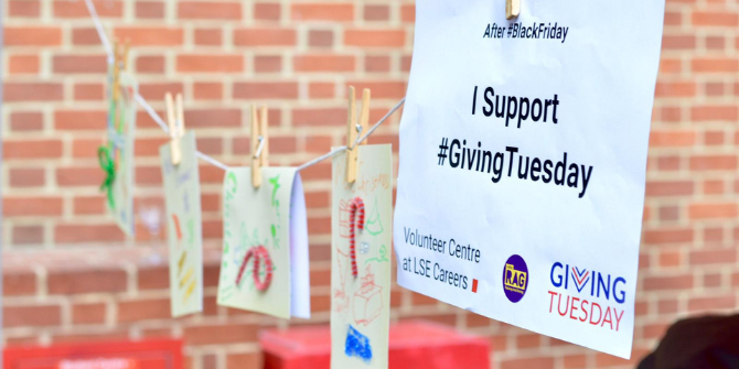 Giving Tuesday - How to get involved