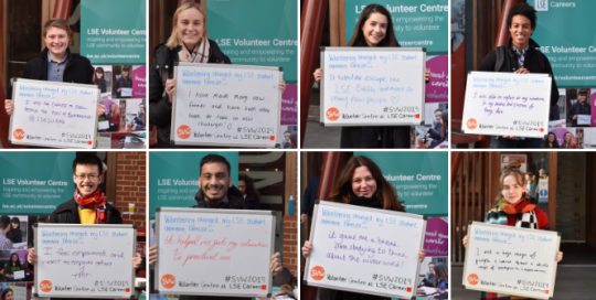 Student Volunteering Week 2020... how can LSESU societies get involved?