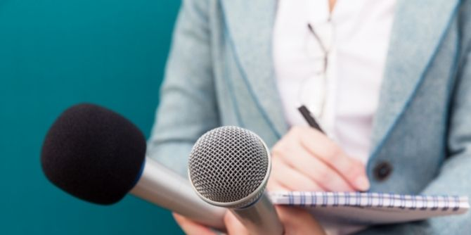 Finding your voice in journalism