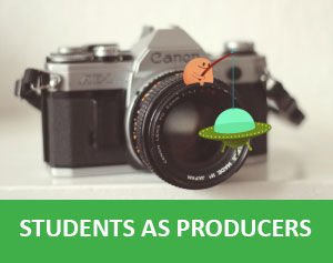 Students as producers show and tell event