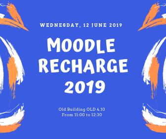 Moodle Recharge 2019
