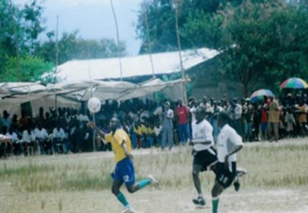 A football match in Burundi