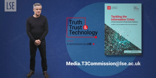 Tackling the Information Crisis - a new LSE report