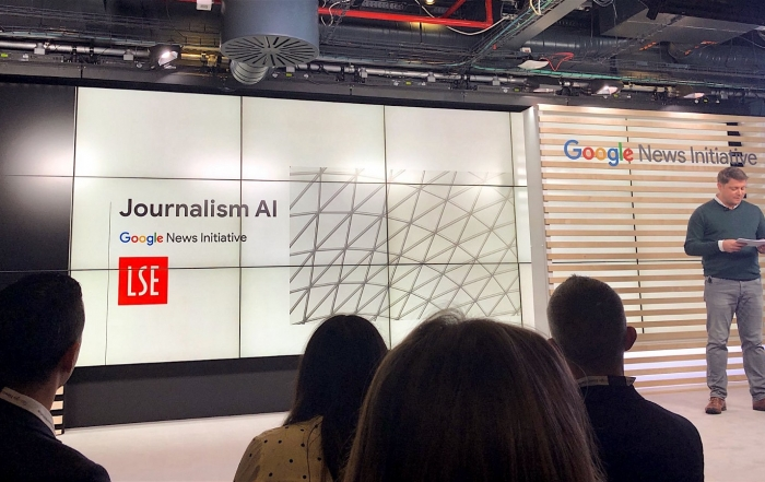 What future for AI in news? We want to find out