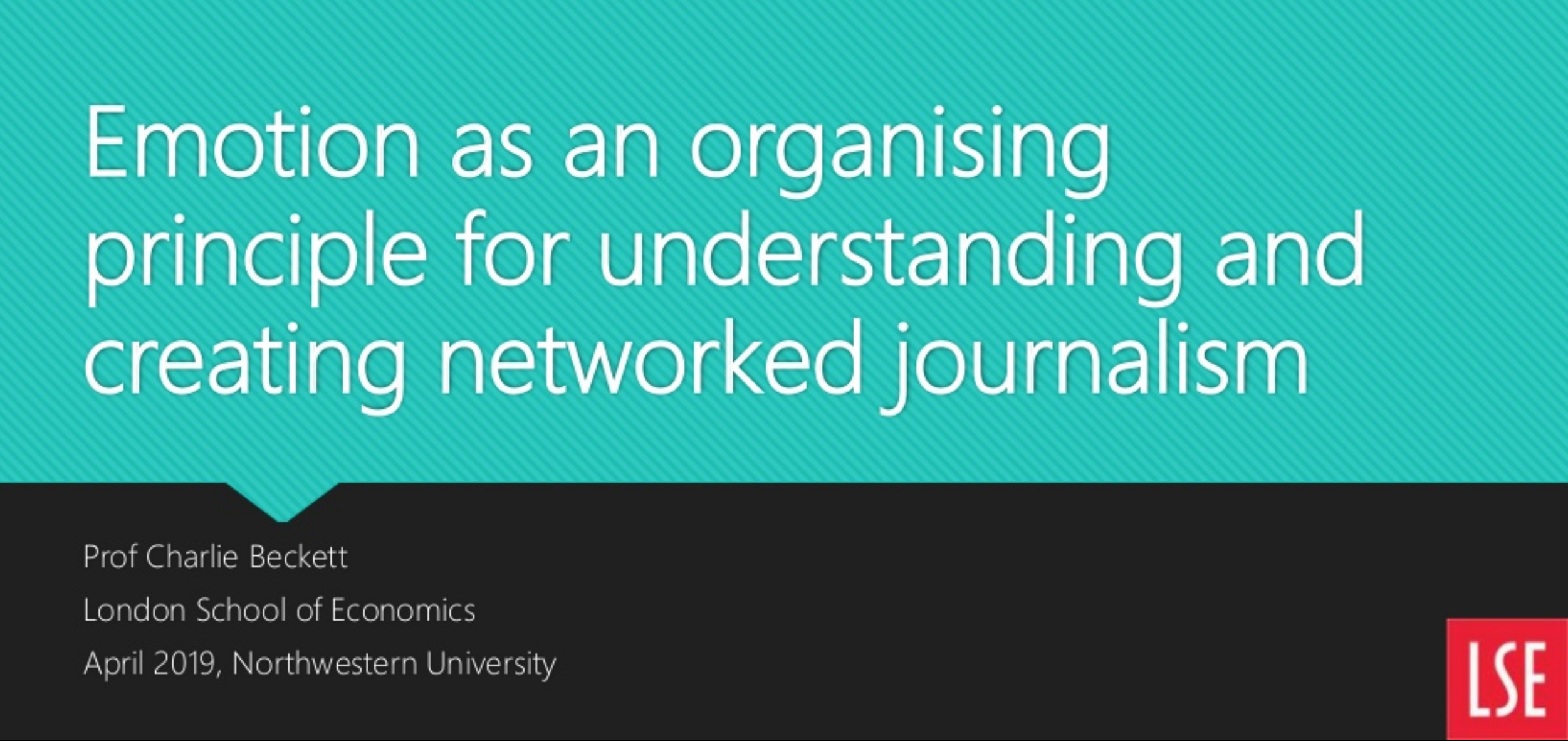 Emotion as an organising principle for networked journalism | Polis