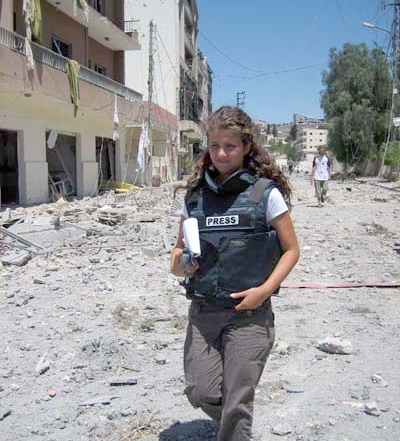 Reporting on war, fighting battles in the newsroom: Rima Maktabi on conflict journalism