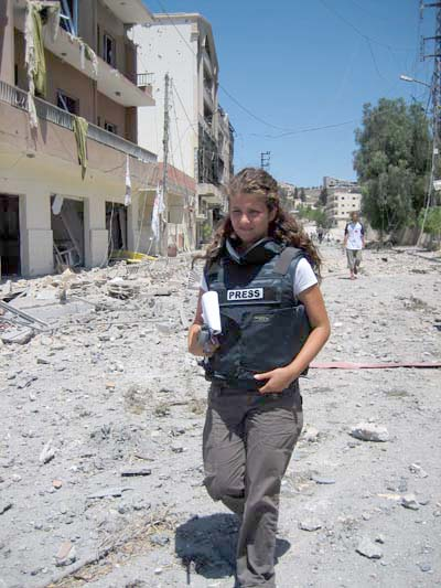 Reporting on war, fighting battles in the newsroom: Rima Maktabi on conflict journalism