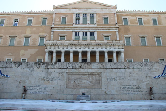Analysing Crisis Parliamentary Discourse in Greece: Who Should We Blame?
