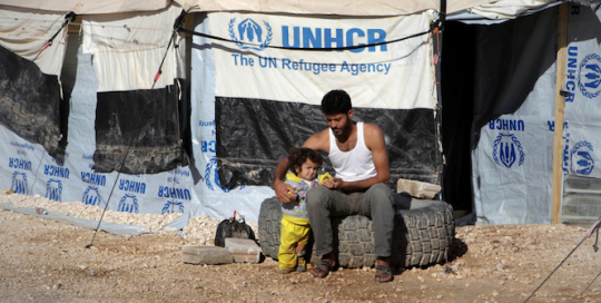 The Missing Masculinity in the Discourse of International Humanitarian Aid to Displaced Syrian Refugees