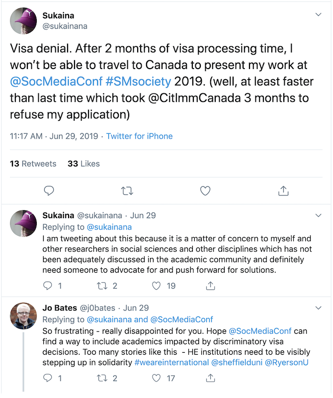 The Impact of Visa Denial in Academia | Middle East Centre