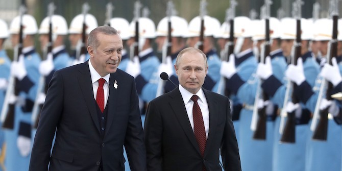 Turkey and Russia: A New Paradigm for Regional Rivalries?