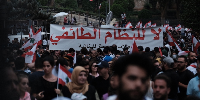 Political Participation in Lebanon: A Look into Emerging Political Movements