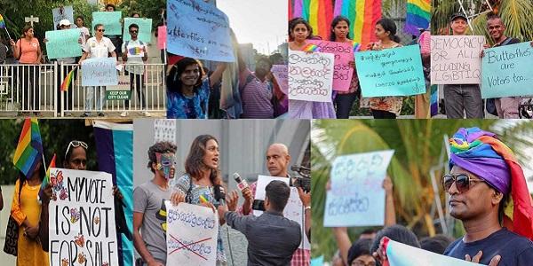 Photos of activists