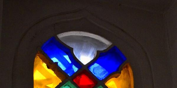 Photo of traditional Yemeni window