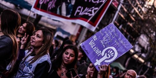#NiUnaMenos: countering hegemonies in Argentina