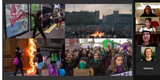Feminist Movements Around the World: Creating feminist community during COVID-19