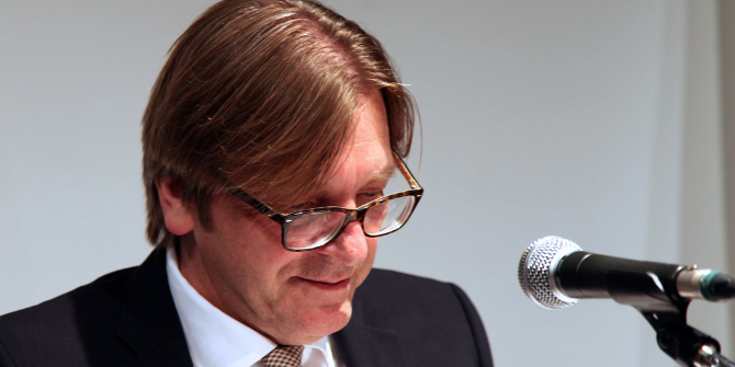 "Five minutes with Guy Verhofstadt: ""We simply cannot stand by and watch as a whole generation grows up without a good prospect of finding a job"""