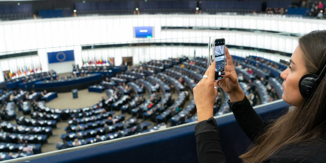 Topic-modelling the 2019 European Parliament elections: The long awaited battle over the 'soul of Europe'?