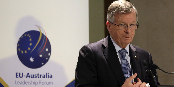 The impact of Brexit on Australia's trading relations with the UK and EU