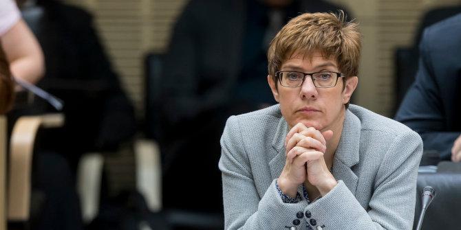 Annegret Kramp-Karrenbauer's uphill battle as Germany's new defence minister