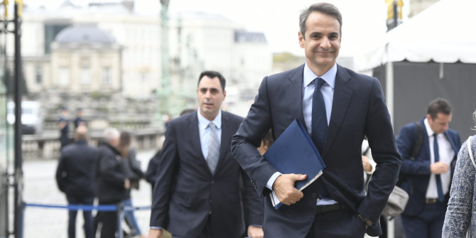The symbolism of the new Greek government