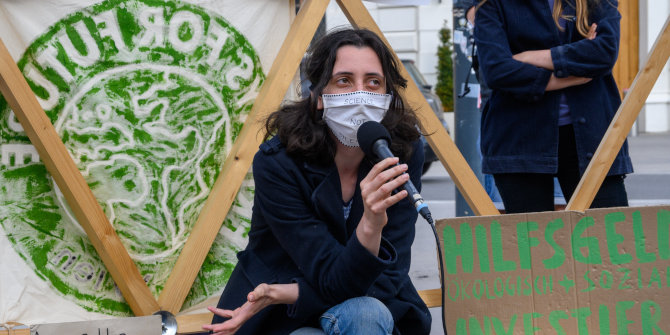Online strikes with the usual suspects: How Fridays for Future has coped with the Covid-19 pandemic